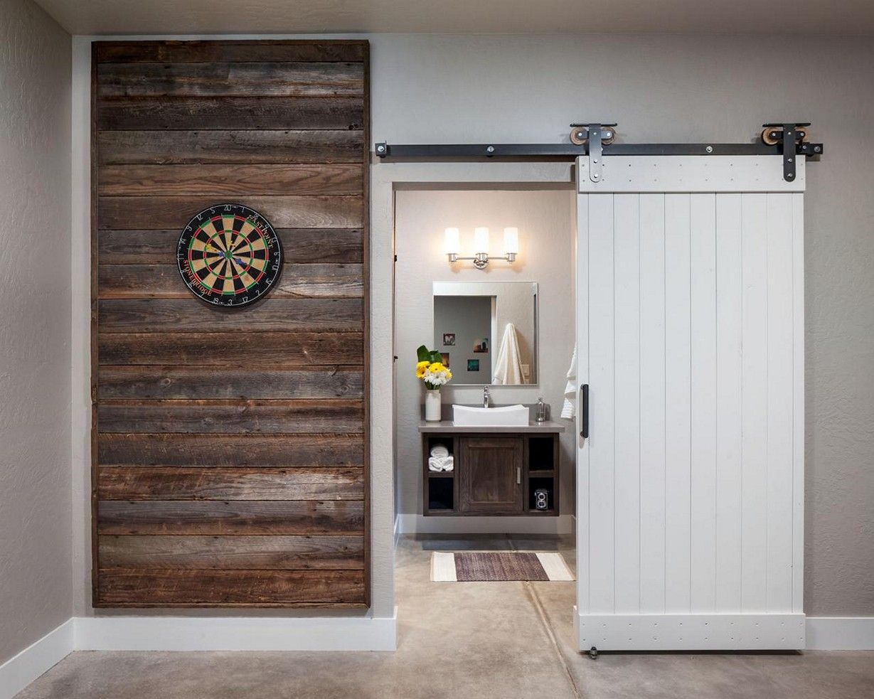 Reclaimed Wood Accent Wall TV Ideas
