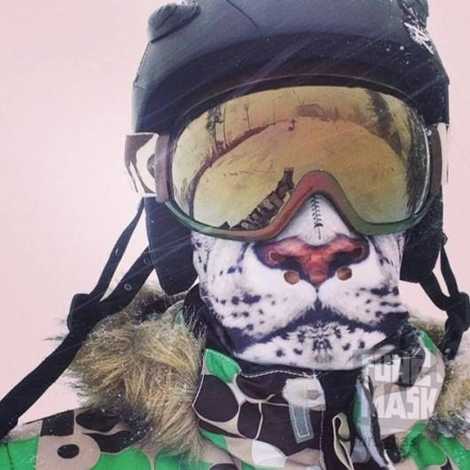 Snow Leopard Face Mask   Ski FaceMask   Windproof Facemask   Windproof  Bandana   Protective Facemas 53a44c3091e9