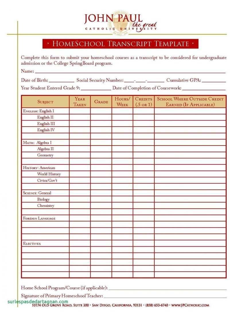 27 Online Blank Report Card Template Homeschool Now With Inside Blank Report Card Template Pro School Report Card Report Card Template Homeschool Transcripts
