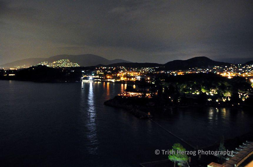 Seaside Athens at Night   Trish Herzog Photography