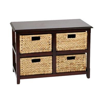 Beachcrest Home Kyoko 4 Drawer Storage Chest Drawer Storage Unit