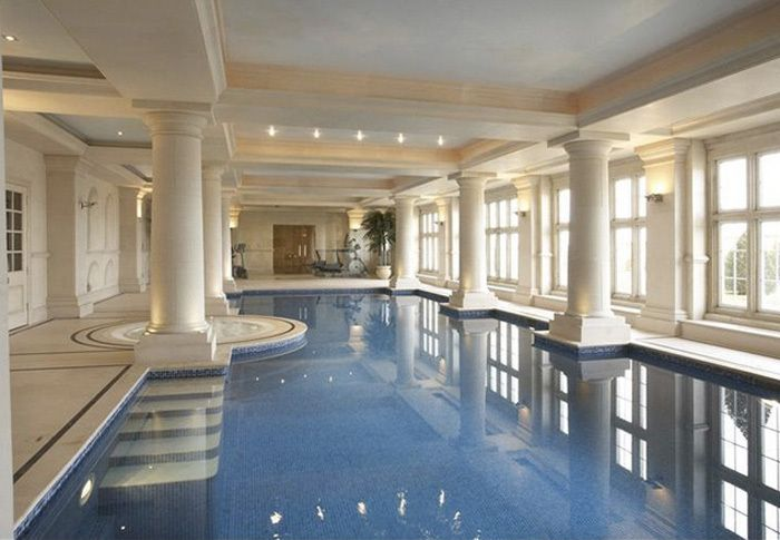 Singer Robbie Williams S Massive Uk Estate Indoor Outdoor Pool Indoor Pool Design Luxury Homes Dream Houses