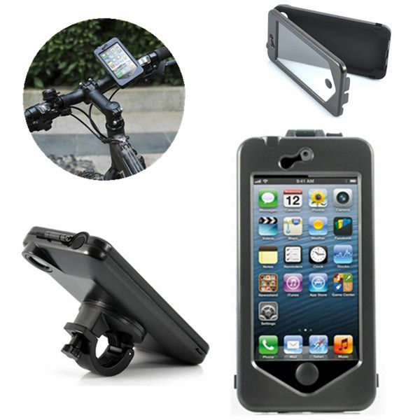 Waterproof Case Motorcycle Bicycle Bike Holder Mount For Iphone 6
