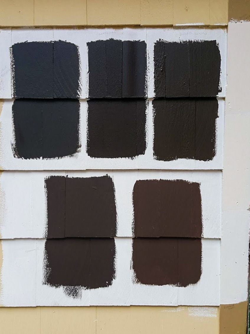 dark brown house colors 2021 in 2020 dark brown paint on house colors for 2021 id=17433
