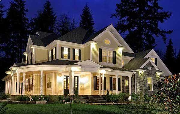 Plan W23203JD Northwest, Farmhouse, Corner Lot, Craftsman, Premium