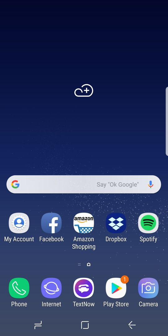 How to Setup Android Weather Widget on Samsung Phone