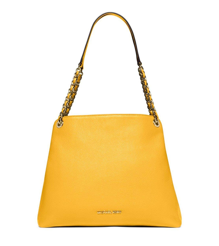06f2336ced MICHAEL MICHAEL KORS Jet Set Chain Large Shoulder Bag Sun Flower     Continue to the