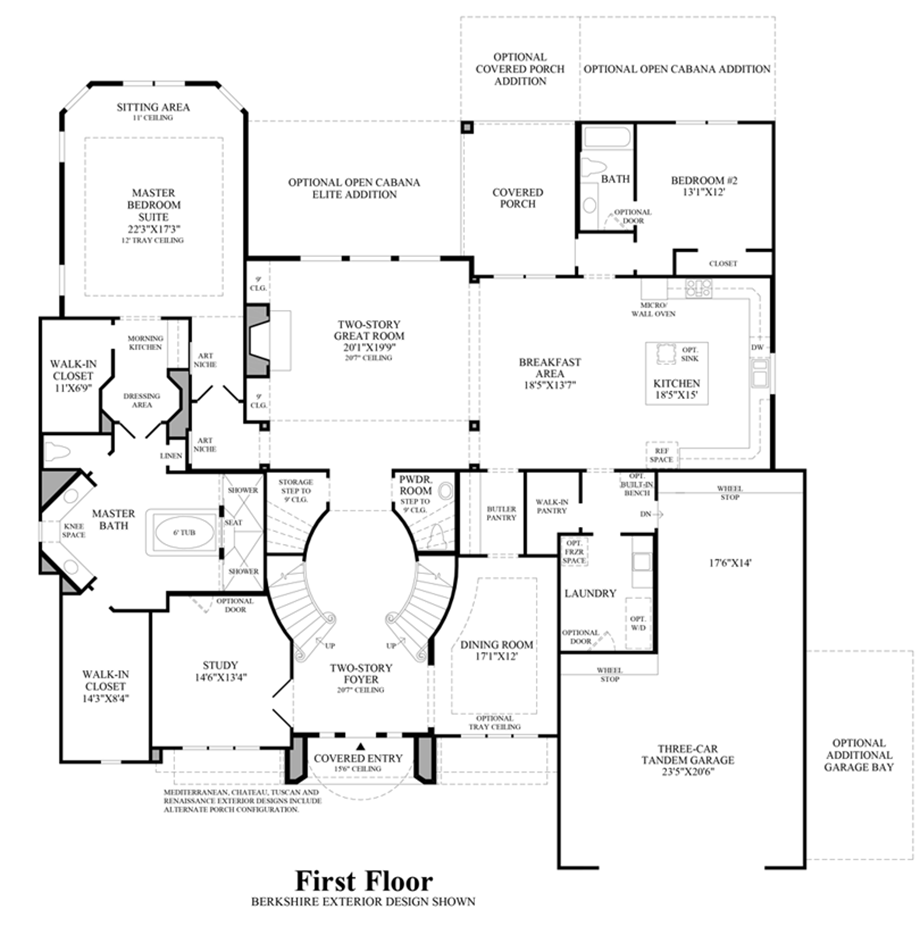Toll Brothers House Plans on Floor Plan Toll Brothers Scottsdale