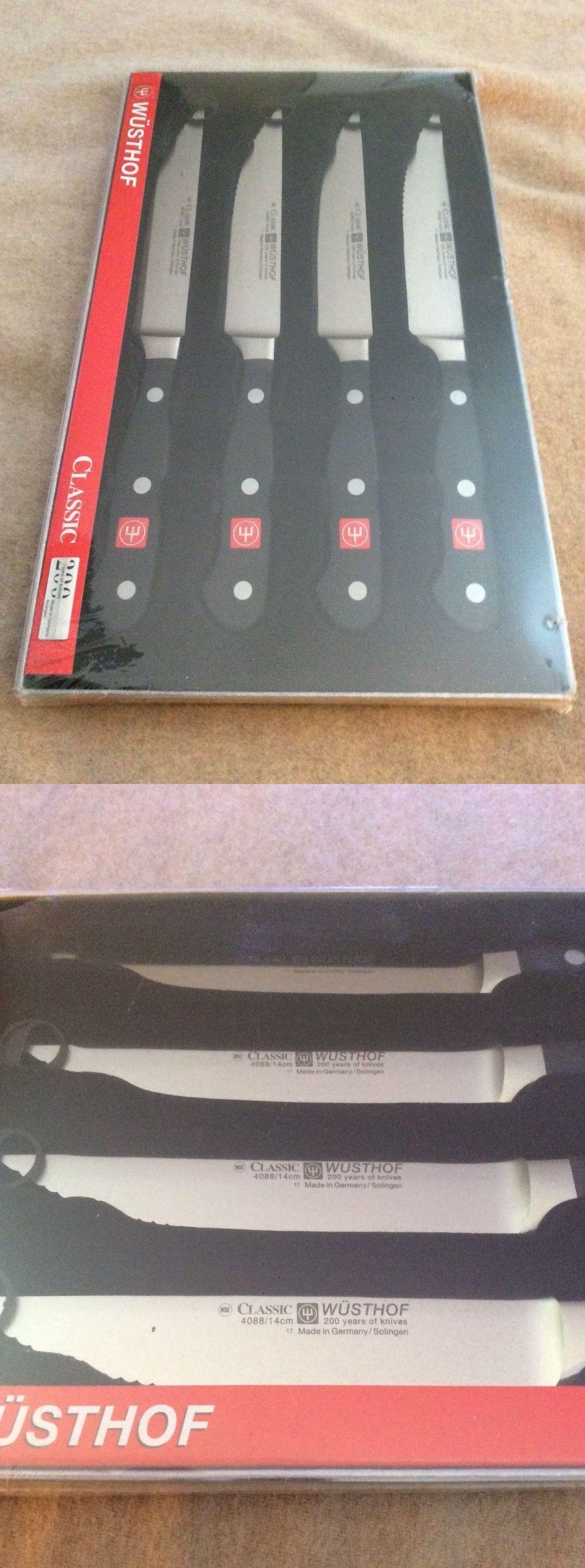 wusthof classic knife set wusthof classic 8piece knife set