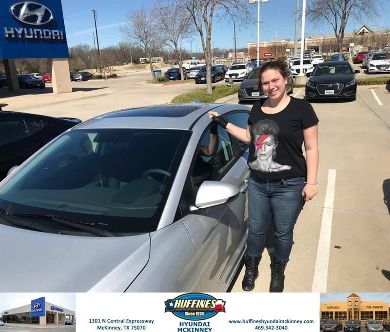 Huffines Hyundai Mckinney Customer Review Congratulations On Your New Vehicle From All Of Us At Huffines Hyundai Mckinney Na New Hyundai Hyundai Hyundai Cars