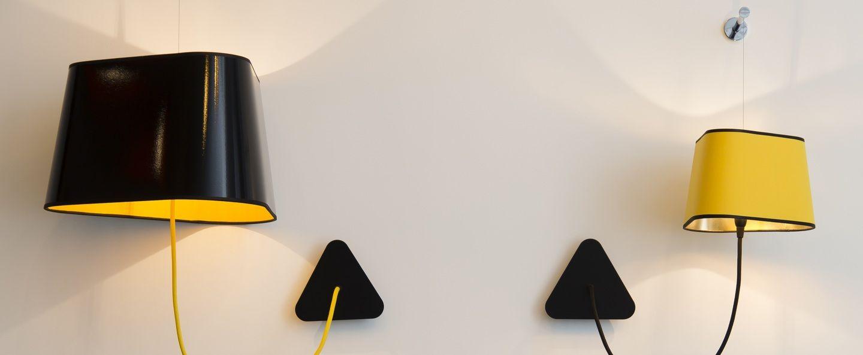 applique suspendue grand nuage noir jaune 43cm designheure pinterest murale. Black Bedroom Furniture Sets. Home Design Ideas