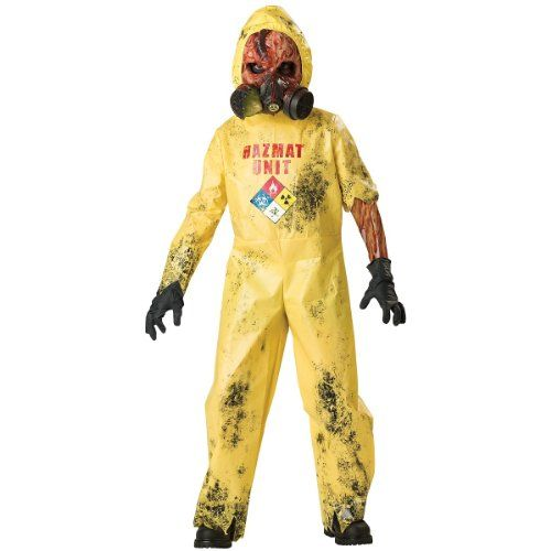 Hazmat Hazard Costume - X-Large @ niftywarehouse.com #NiftyWarehouse #Zombie #Horror #Zombies #Halloween