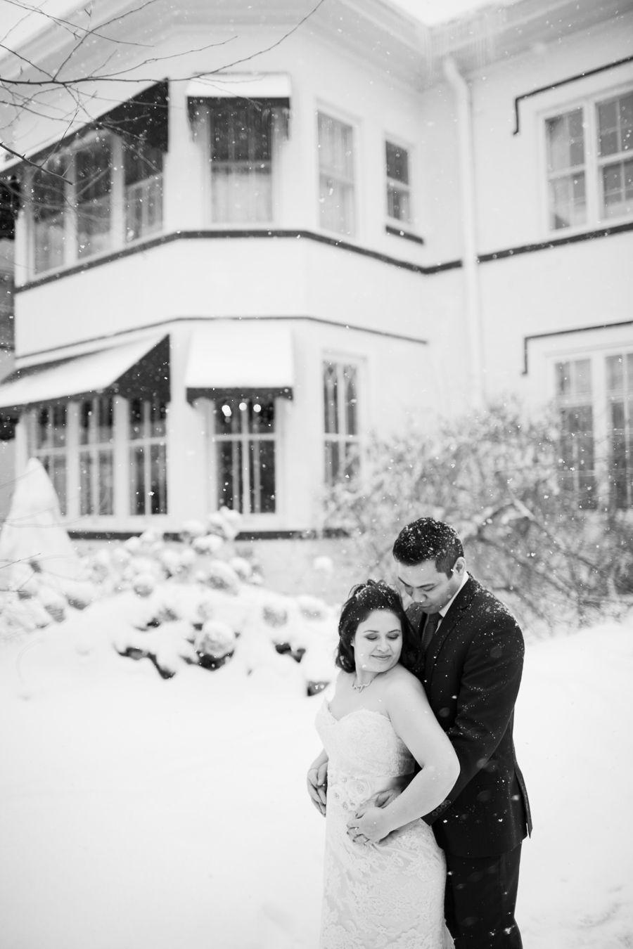 Chicago Winter Wedding Photographer Mark Trela Meson Sabika Naperville Il