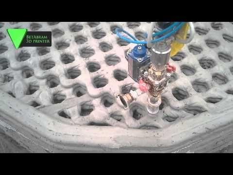 BetAbram vend des imprimantes 3D béton pour construire sa propre