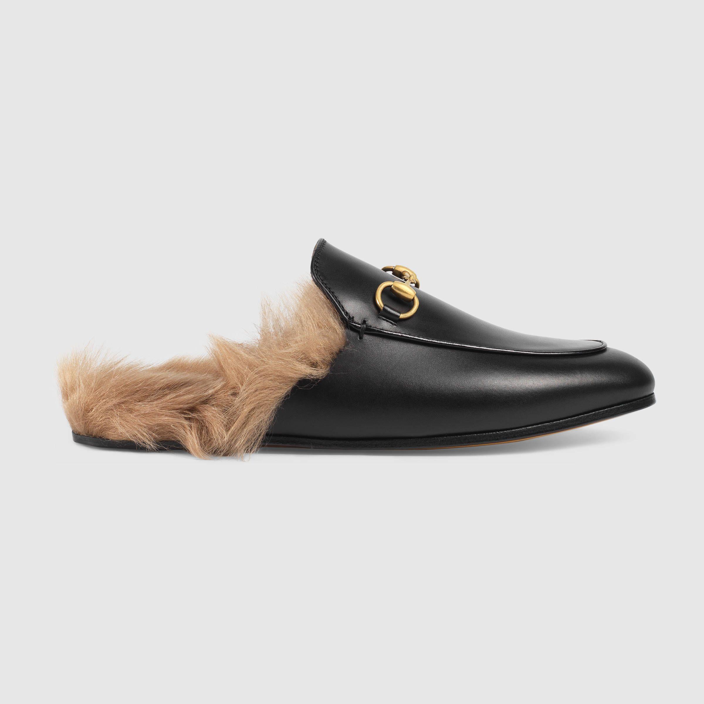 Sandales Pour Femmes, Noir, Cuir Suède, 2017, 37 Gucci