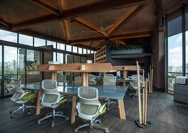 Dise o interior corporativo oficinas cm2 arquitectura for Diseno de interiores para oficinas pequenas