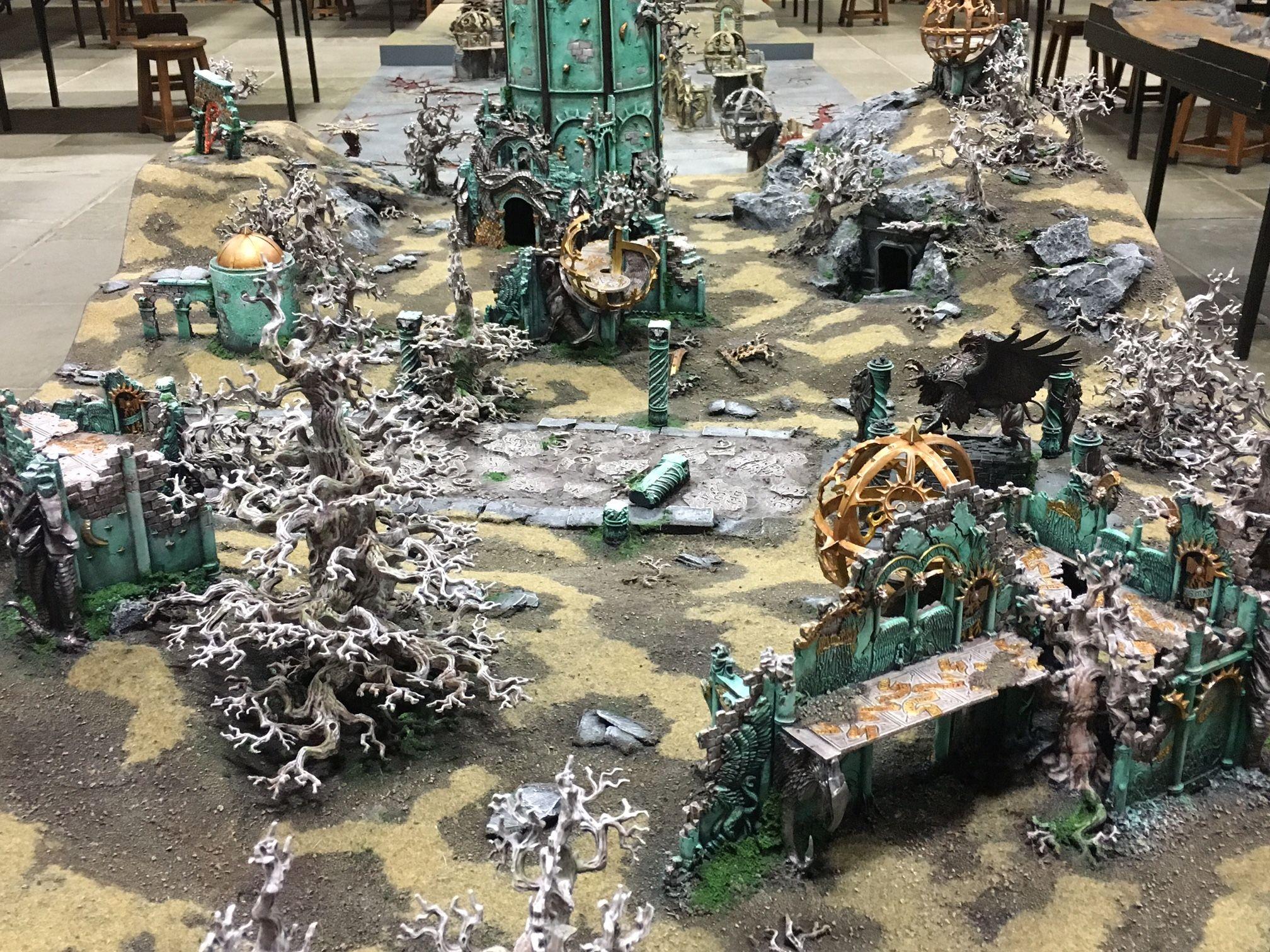 Battle over The Ruins of Dras'Shiel – Warhammer World  A new