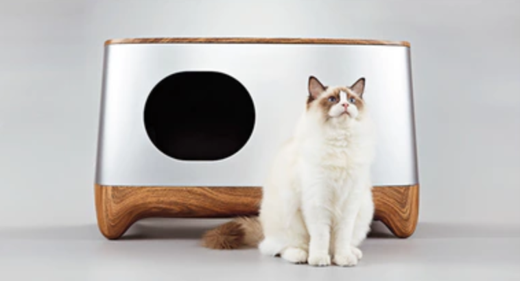 The mostconvenient cat litter box that cleans itself