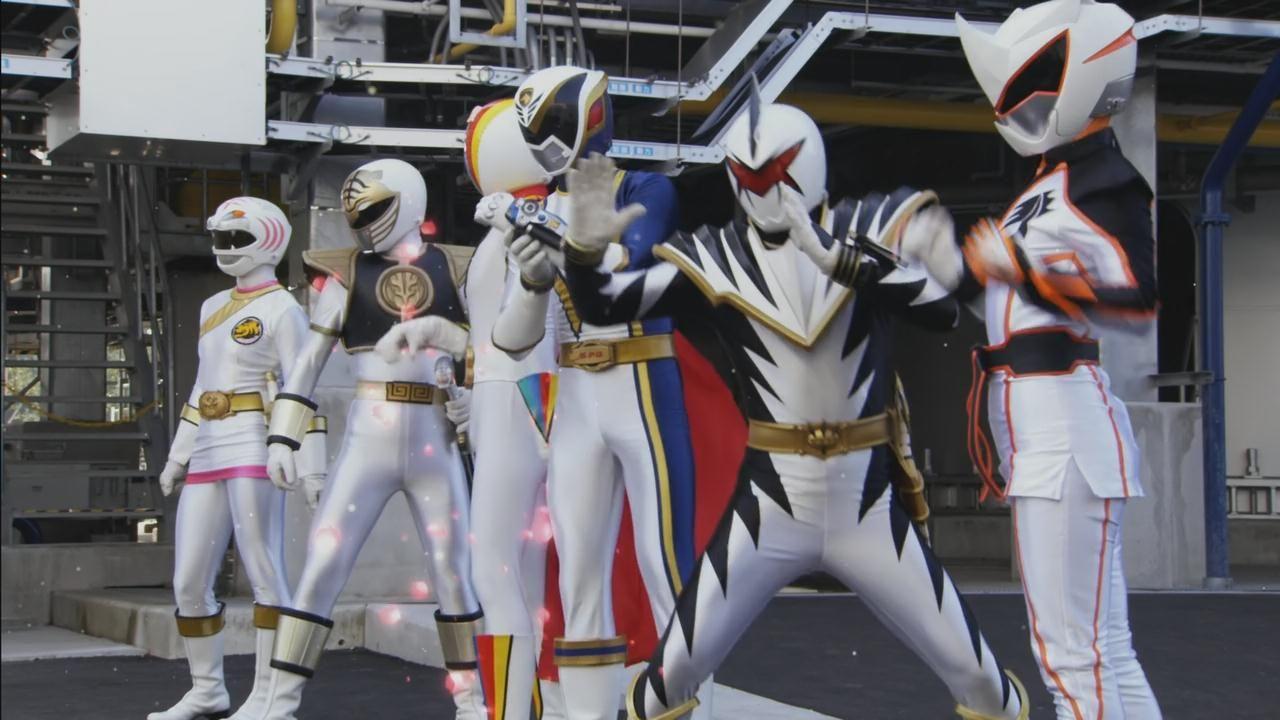 Gokaiger White Sentai | Super Sentai / Power Rangers ...