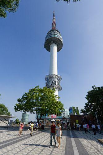 Turismo Torre De Namsan Seúl South Korea Travel Korea Travel South Korea