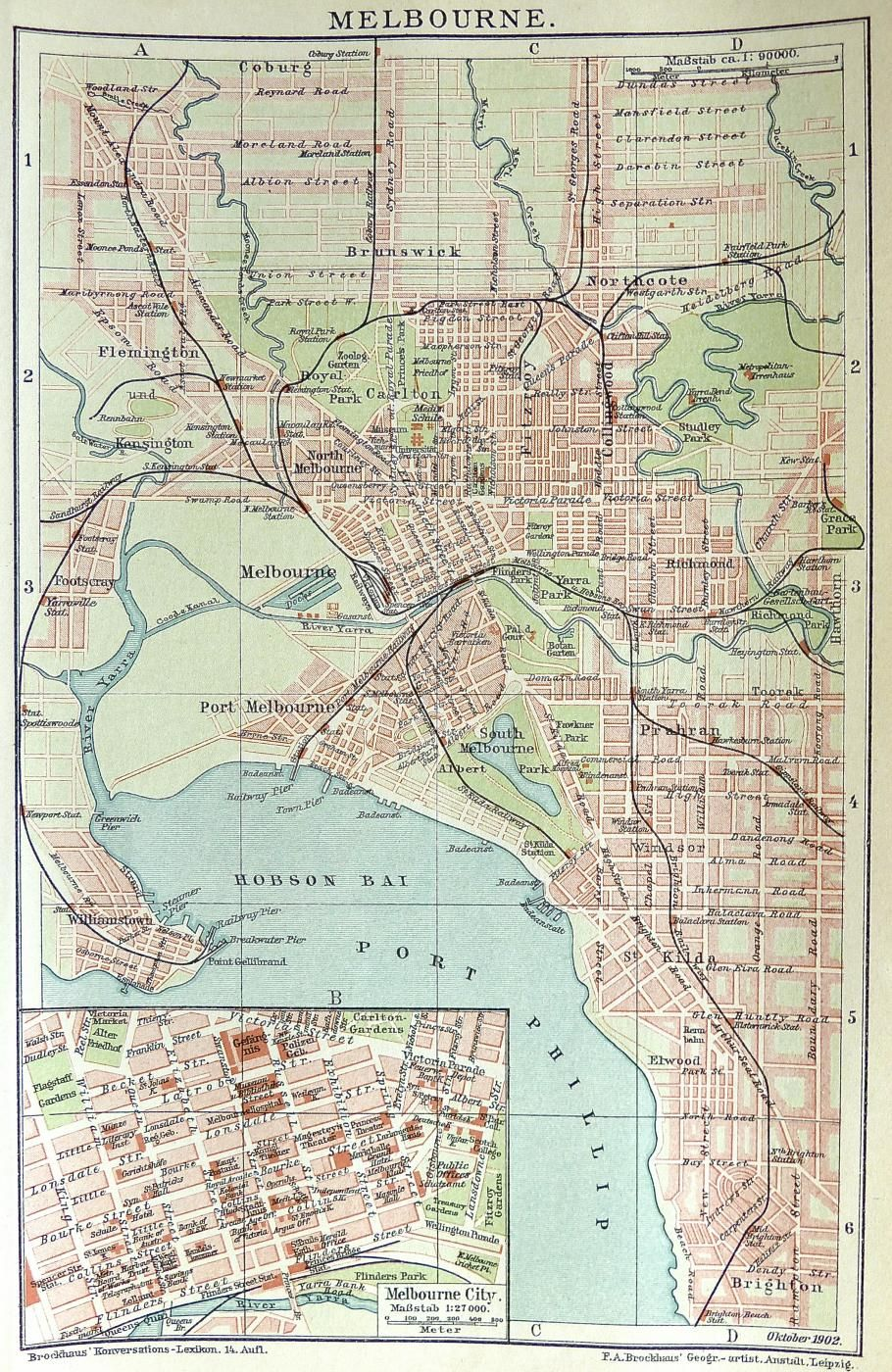Australia Melbourne Map.Melbourne Street Map C 1890 Home Office Decor In 2019 Melbourne