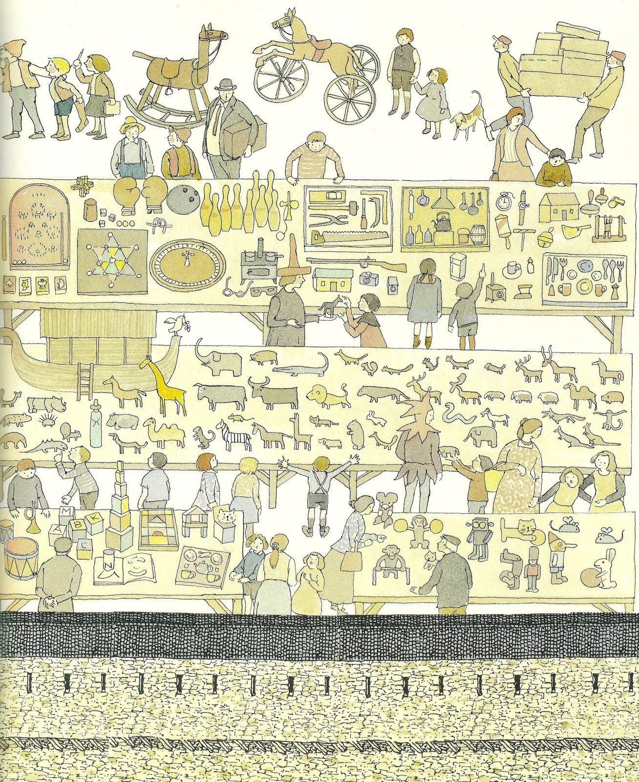 mitsumasa anno from japan and draws beautiful details eastern
