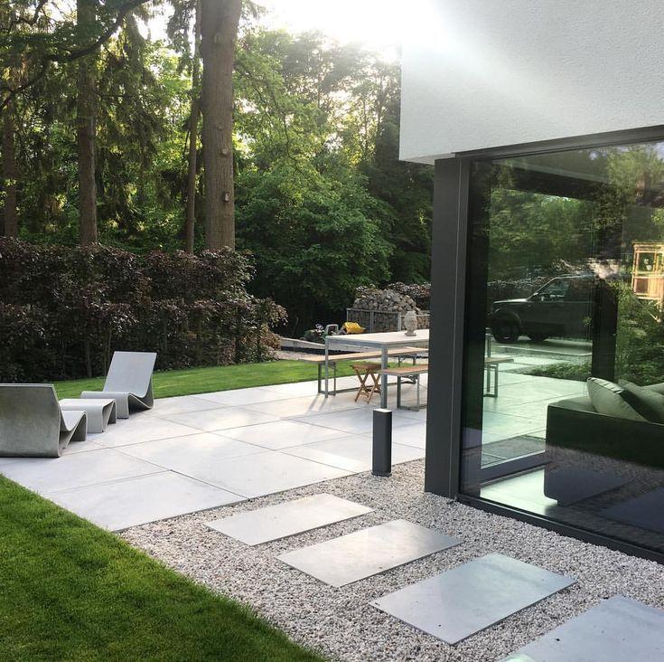 #Eigenheim#allesneumachtderMai#Abendsonne#Projekt2017#frieserBaustoffhandel#eter #modernegärten