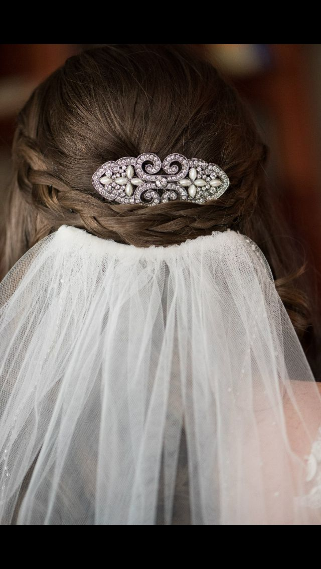 Wedding Hair With Veil Half Up Half Down Updo Wedding Hairstyles Half Up Half Down Wedding Hairstyles With Veil Bridal Hair Veil