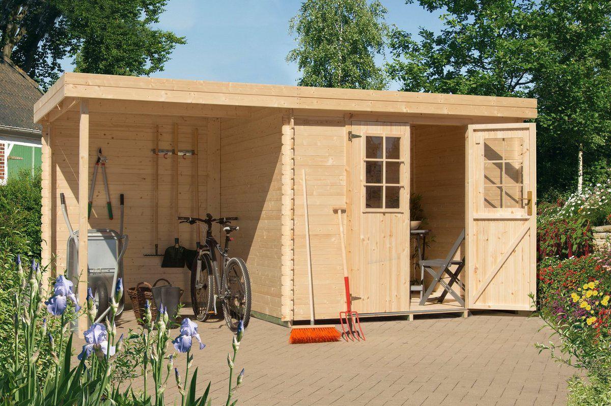 Set Gartenhaus »Perlsee 3«, BxT 664x360 cm, mit