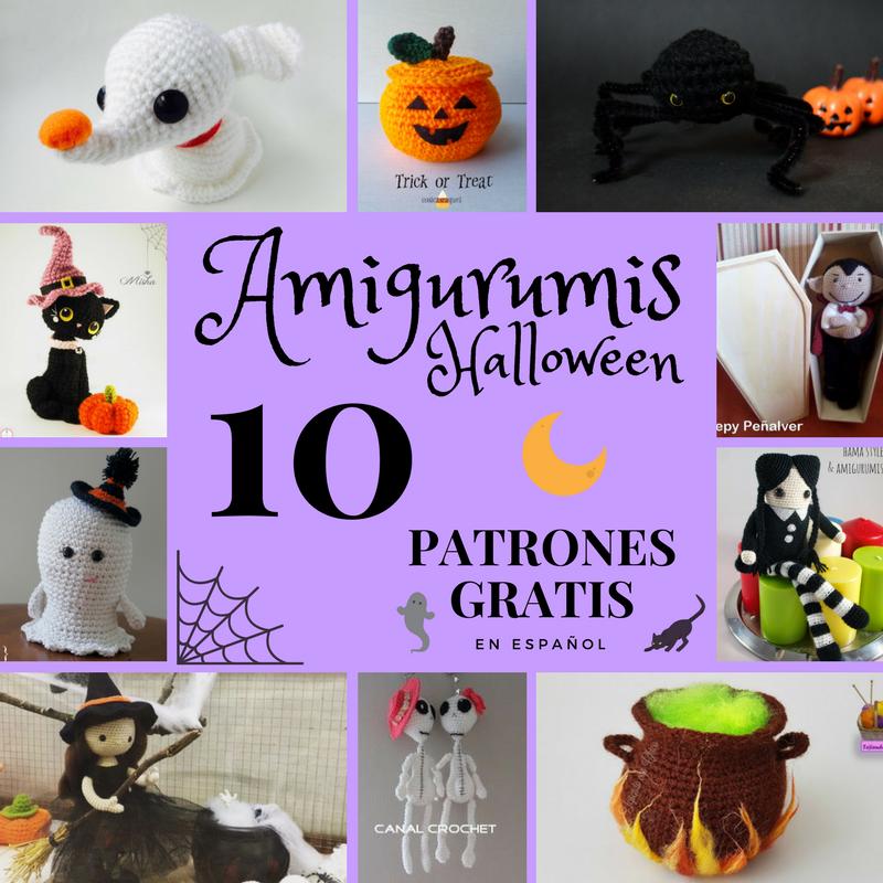 amigurumi halloween patron gratis | Halloween en Crochet | Pinterest ...