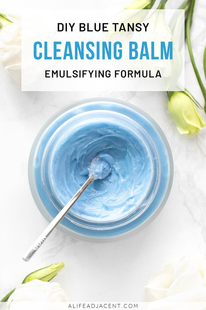 Photo of DIY Emulsifying Cleansing Balm with Blue Tansy Oil