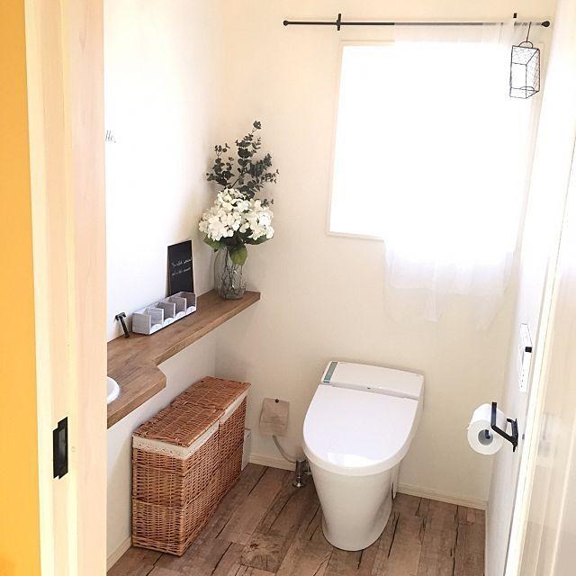 トイレをオシャレに ついつい自慢したくなる収納 Diy実例 画像あり インテリア トイレ インテリア 収納 Diy