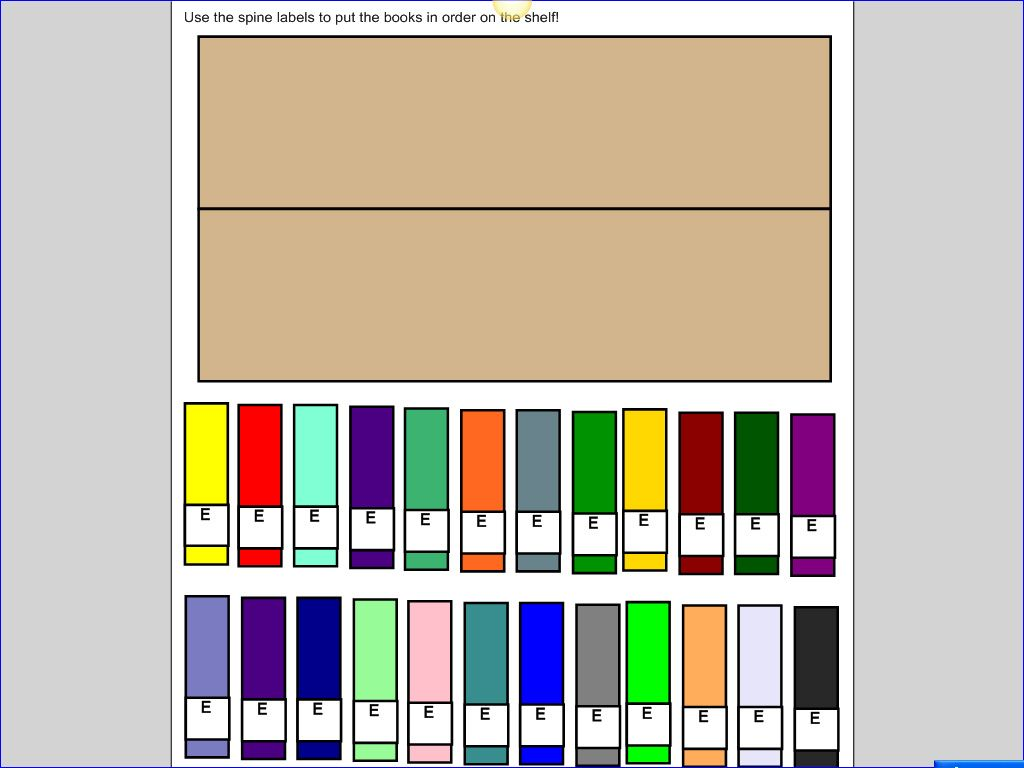 Free Downloadable Smart Lesson Ideas On Library Topics Such As Abc Order Shelving Books Dewey