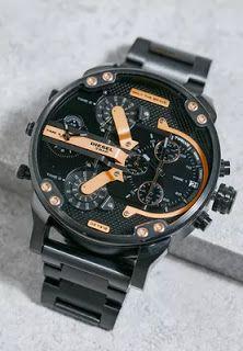 Araby Mall مول العرب لو بتحب ساعات ديزل الرجالي لازم تشوف التشكيله دي و Skeleton Watch Accessories Watches