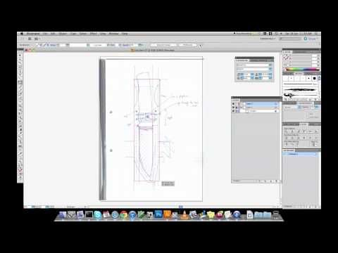 Tracing Leather Patterns With Adobe Illustrator Leather Craft