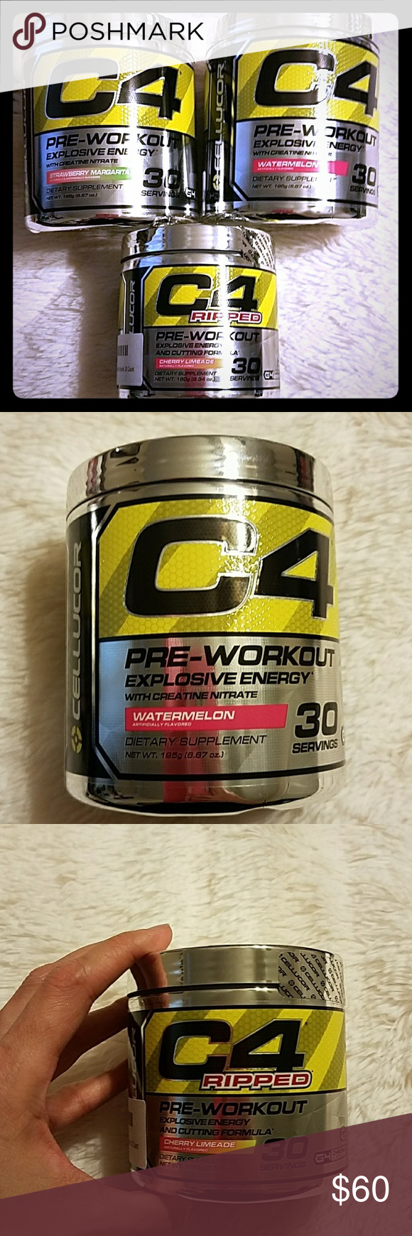 C4 Pre Workout All Expire 12 17 Unopened Canisters Of C4 Pre Workout Expires 12 17 C4 Other Ripped Workout Preworkout Workout