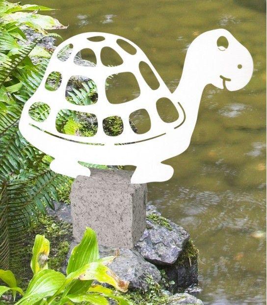 gartenfigur #schildkröte #edelstahl #garten #deko von #heibi, Best garten ideen