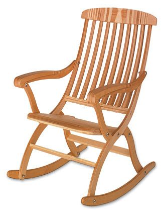 Folding Rocking Chair Plans Lee Valley Tools Chairs Pinterest