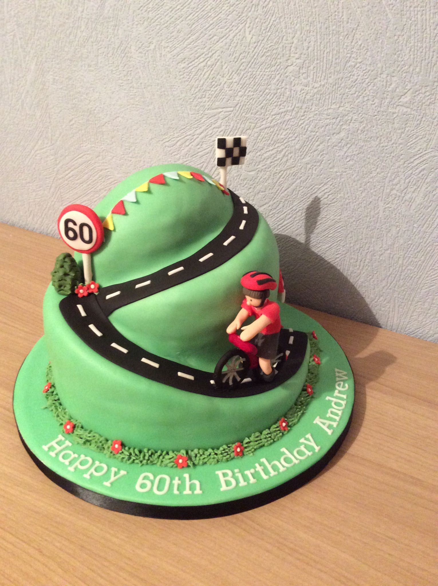 Cycling Cake Bike Cakes Cake Birthday Cake