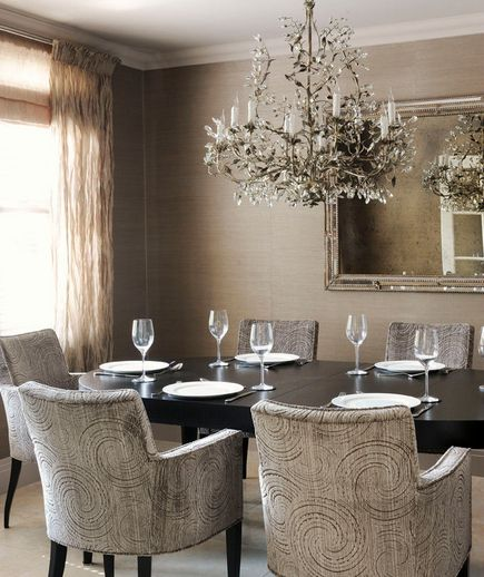Elegant Dining Room Chandeliers Entrancing 32 Elegant Ideas For Dining Rooms  Monochromatic Room Design Decoration