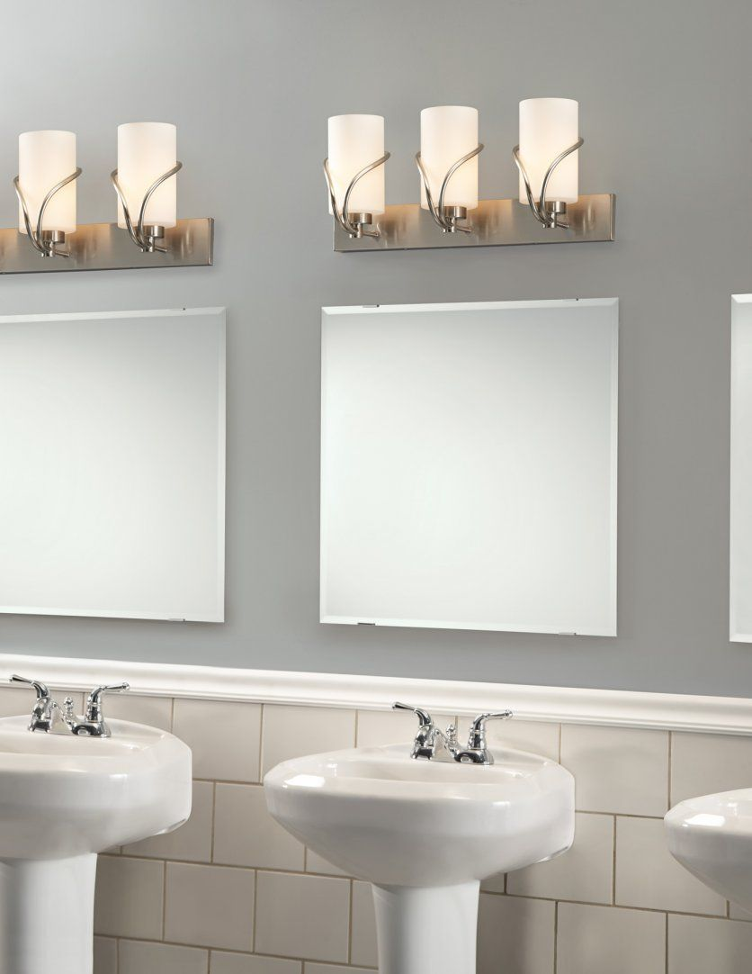 Right Bathroom Vanity Lighting Tips To Install For Dazzling Look: SOft Vanity  Lighting Concept For