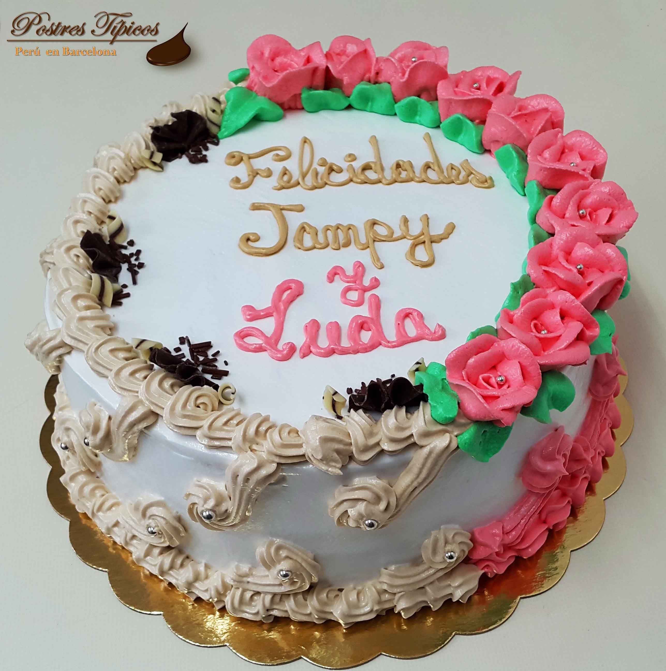 Torta con dos decoraciones distintas Pasteles y Tortas de