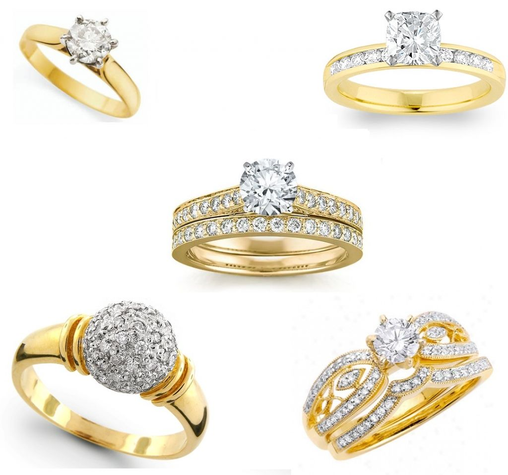 Kalyan Jewellers Diamond Rings Collection