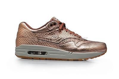 2eed9d89f99 Women s Nike Air Max 1 Cut Out PRM  RARE  - 644398900 - Metallic Gold