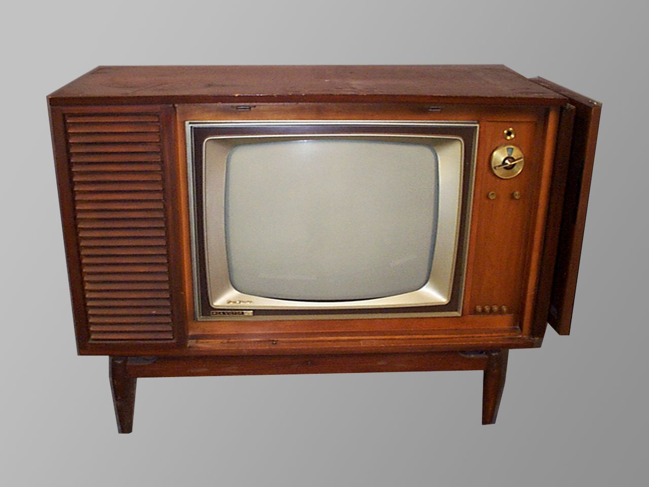 television from 1960 | RCA New Vista Cherry 25″ | Retro Televisions ...