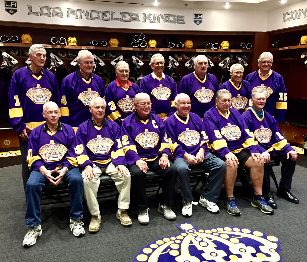 Proud To Be One Of The Original Los Angeles Kings Defenseman Bob Wall Los Angeles Kings La Kings Hockey Kings Hockey