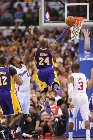Another Mamba Foray To The Basket April 7 2013 Los Angeles Lakers Los Angeles Clippers Staples Kobe Bryant Black Mamba Kobe Bryant Los Angeles Clippers
