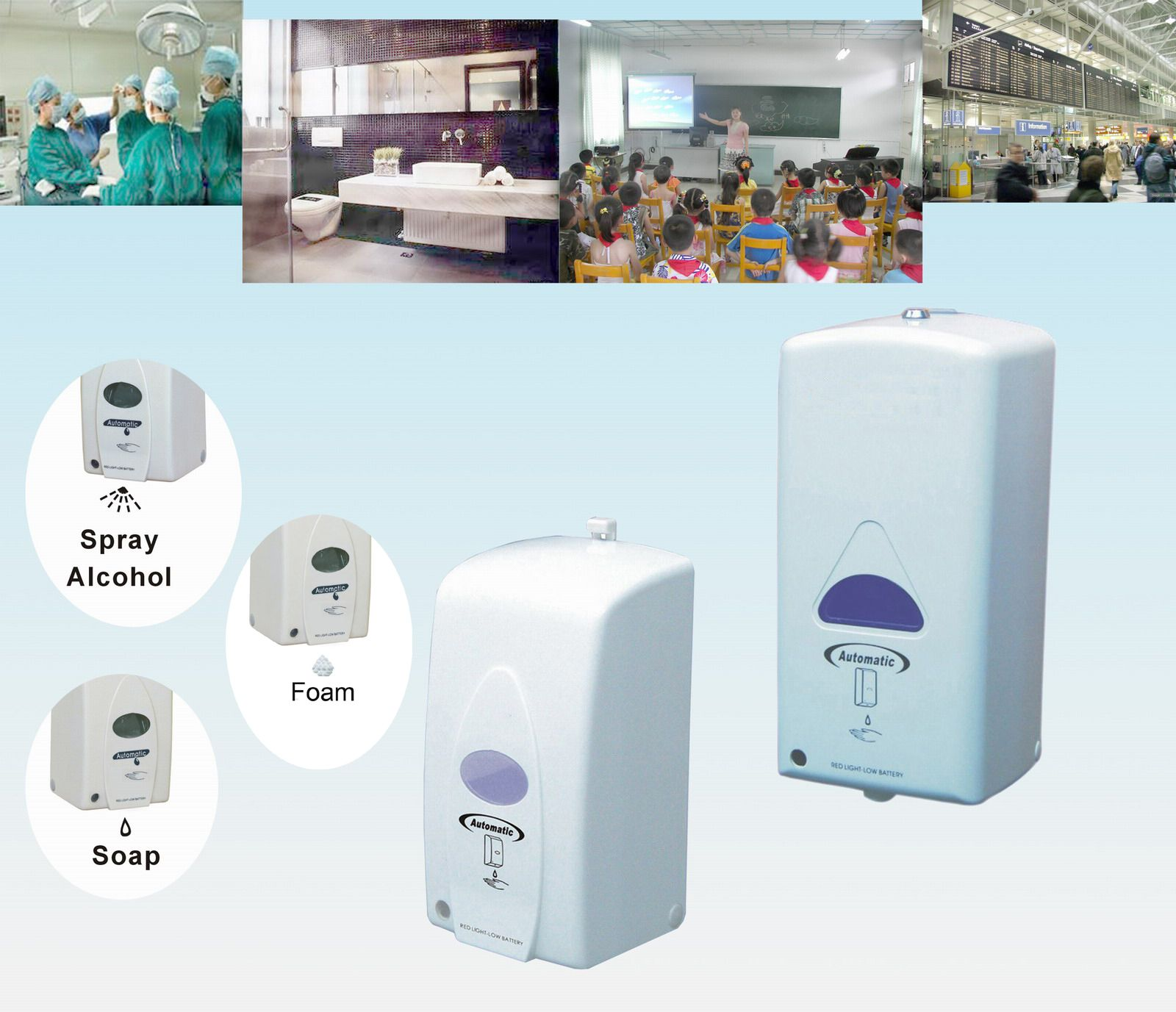 800 1000ml Hospital And Healthcare Liquid Foam And Hand Sanitizer