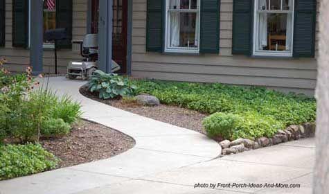 Front door ramp ideas in home.