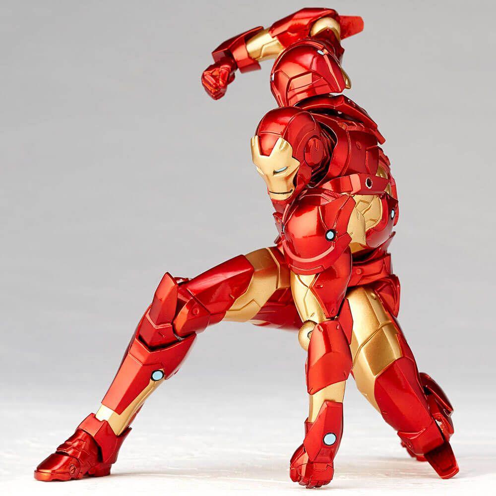 Amazing Yamaguchi Marvel Revoltech Kaiyodo DEADPOOL X-Men Action Figure Toy Gift